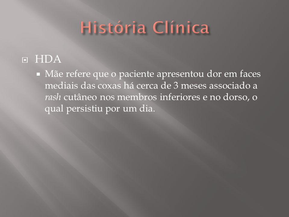 História Clínica HDA.