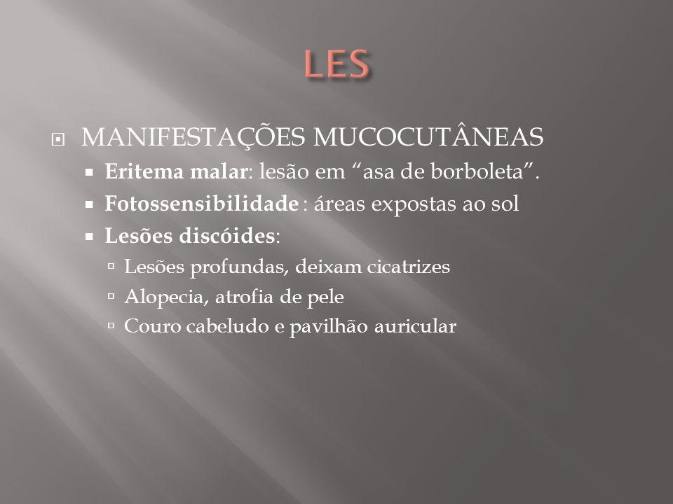 LES MANIFESTAÇÕES MUCOCUTÂNEAS
