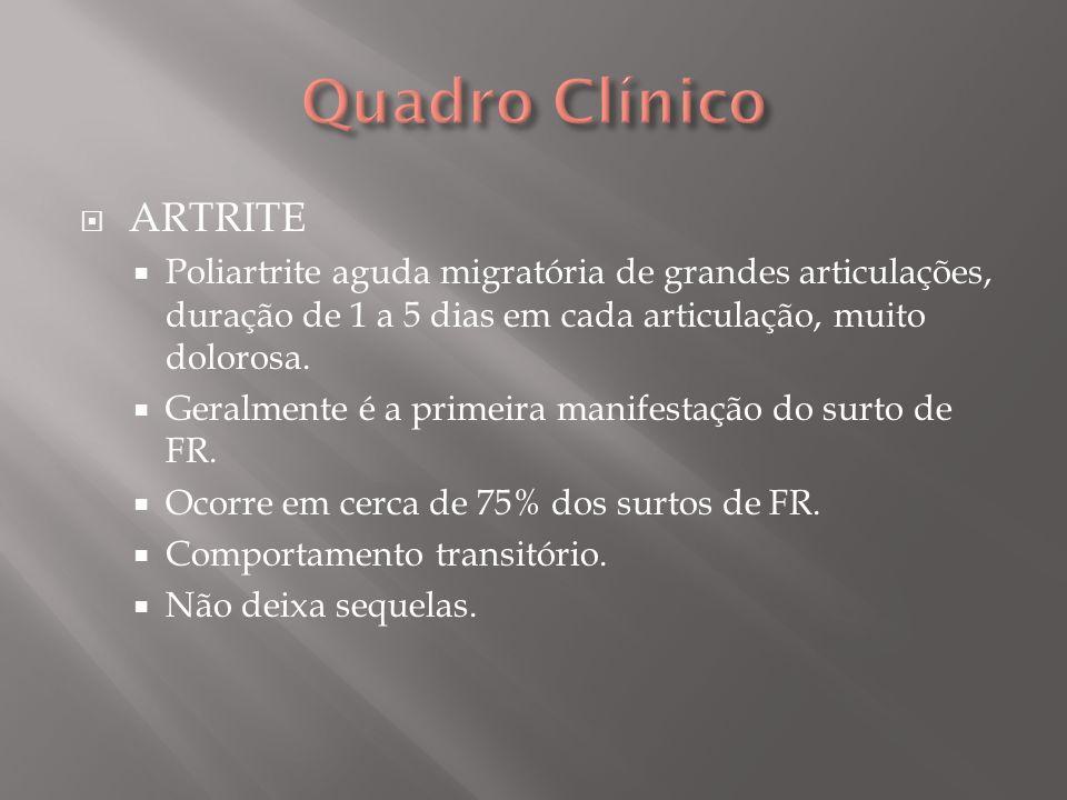 Quadro Clínico ARTRITE