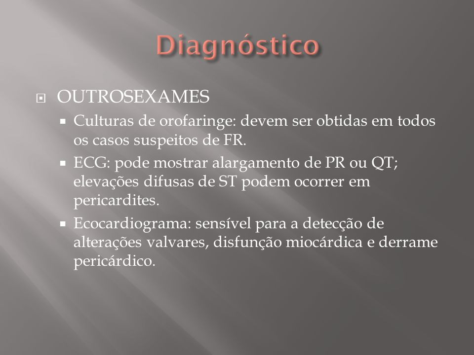 Diagnóstico OUTROSEXAMES