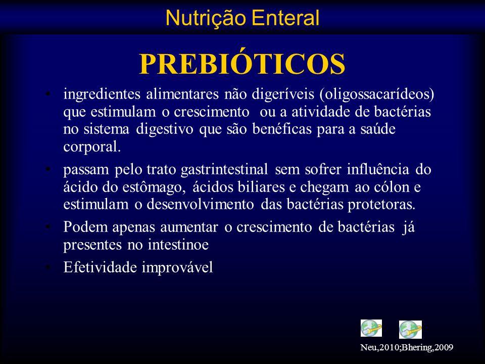 PREBIÓTICOS Nutrição Enteral