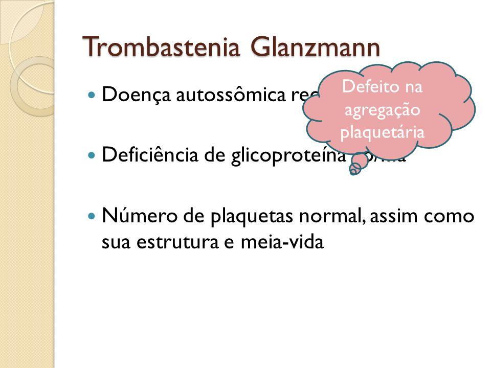 Trombastenia Glanzmann