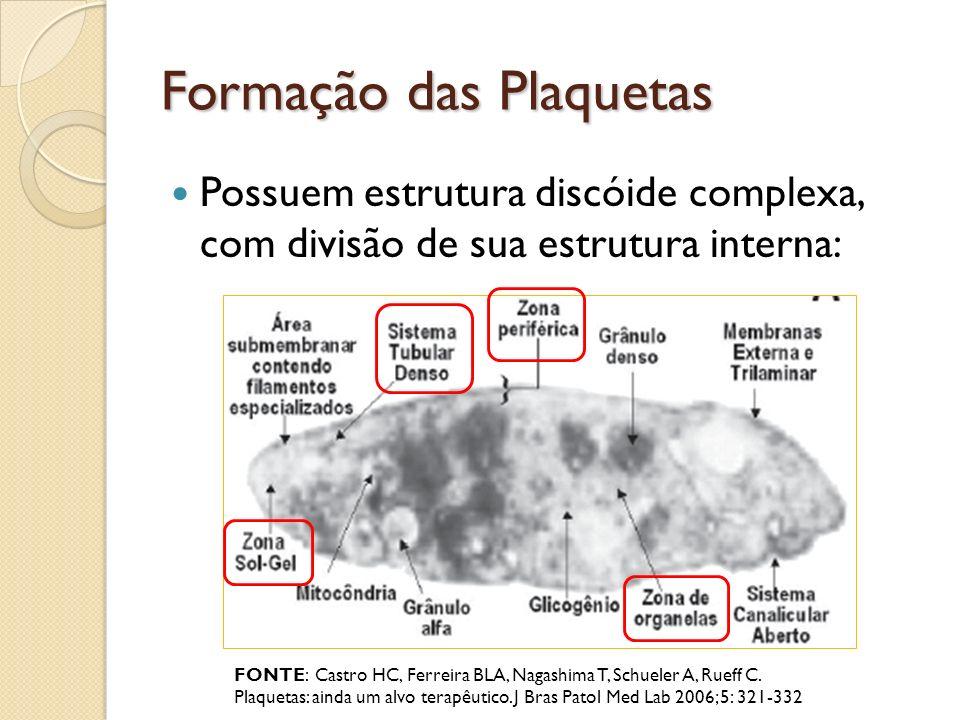 Formação das Plaquetas
