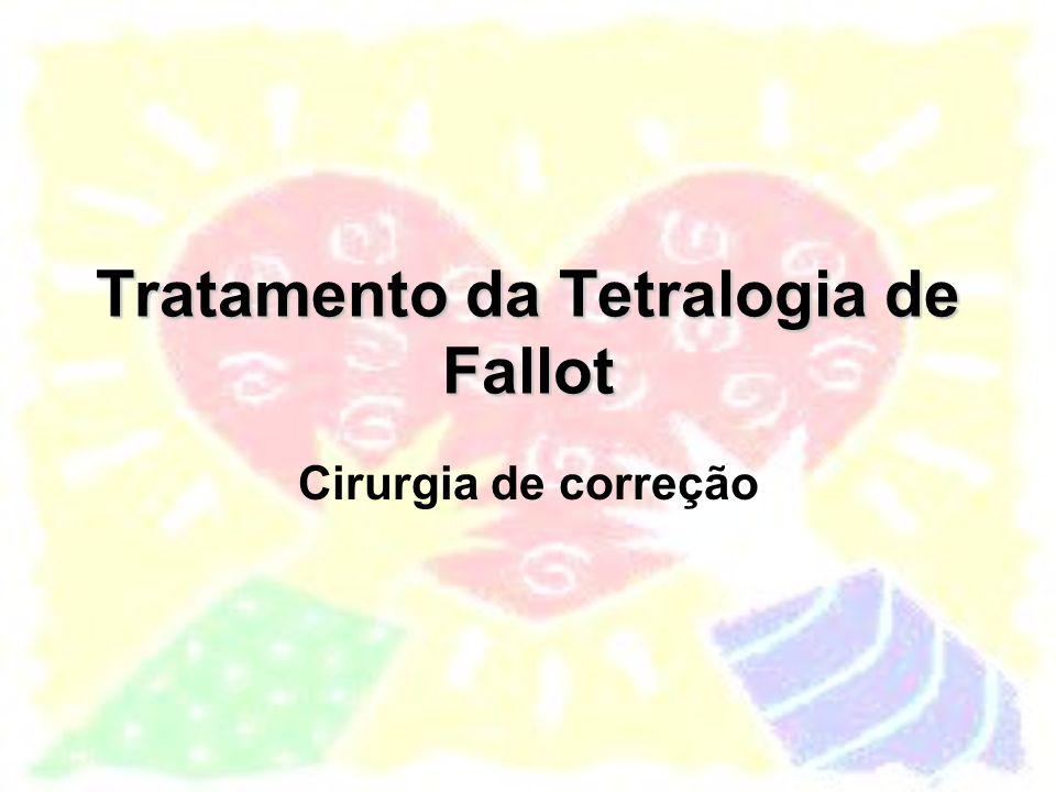 Tratamento da Tetralogia de Fallot