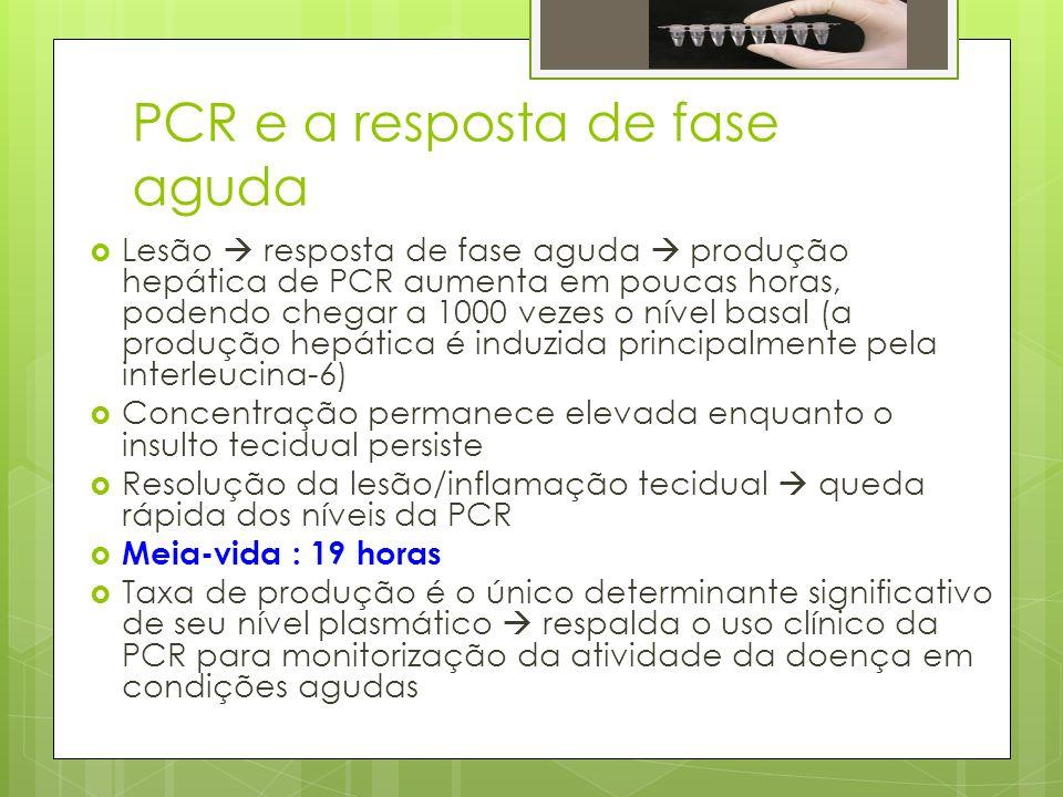 PCR e a resposta de fase aguda