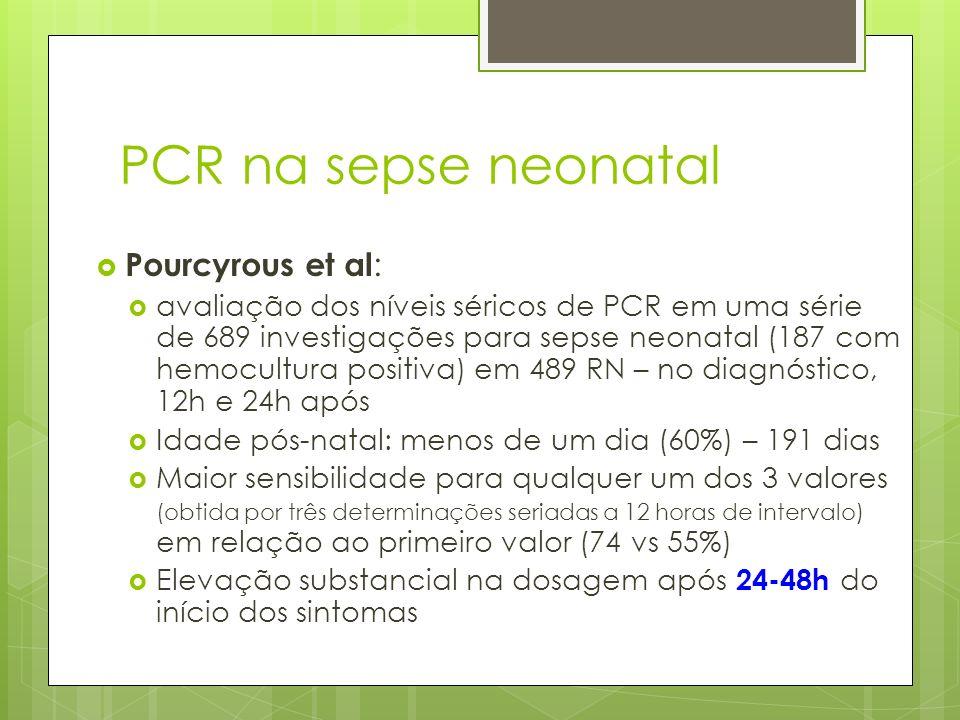 PCR na sepse neonatal Pourcyrous et al: