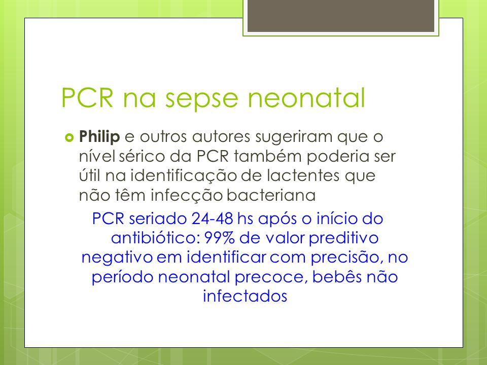 PCR na sepse neonatal