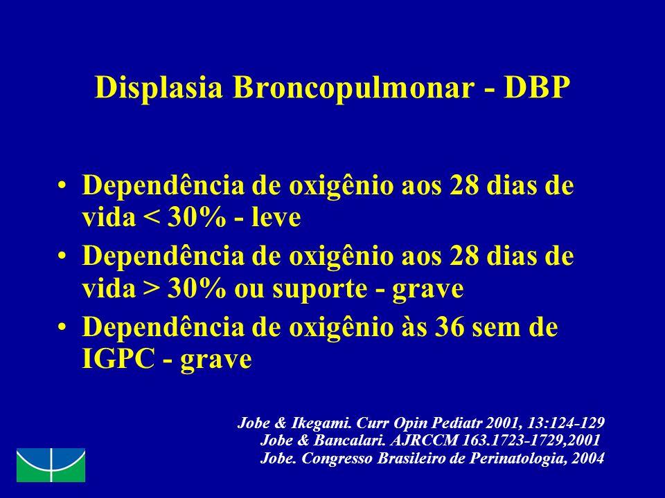 Displasia Broncopulmonar - DBP