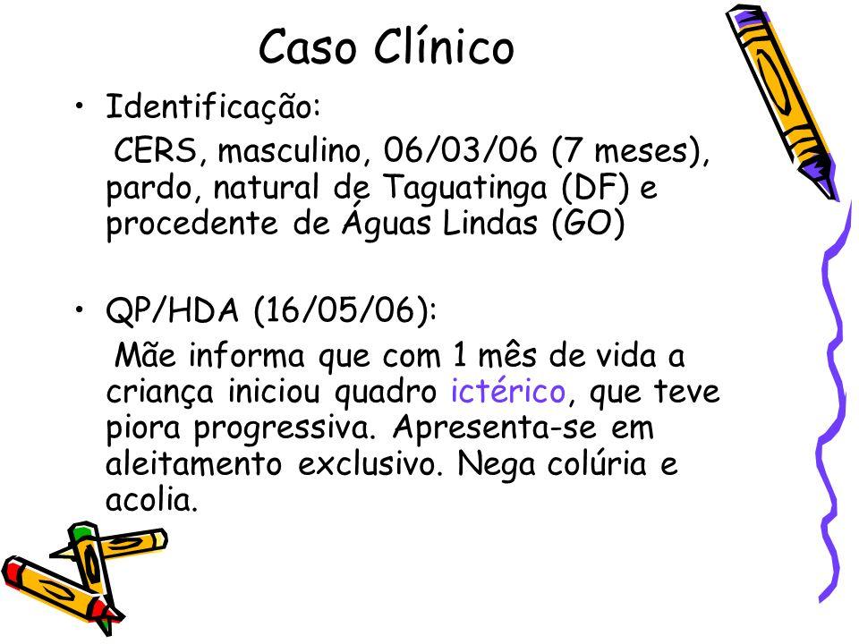 Caso Clínico Identificação: