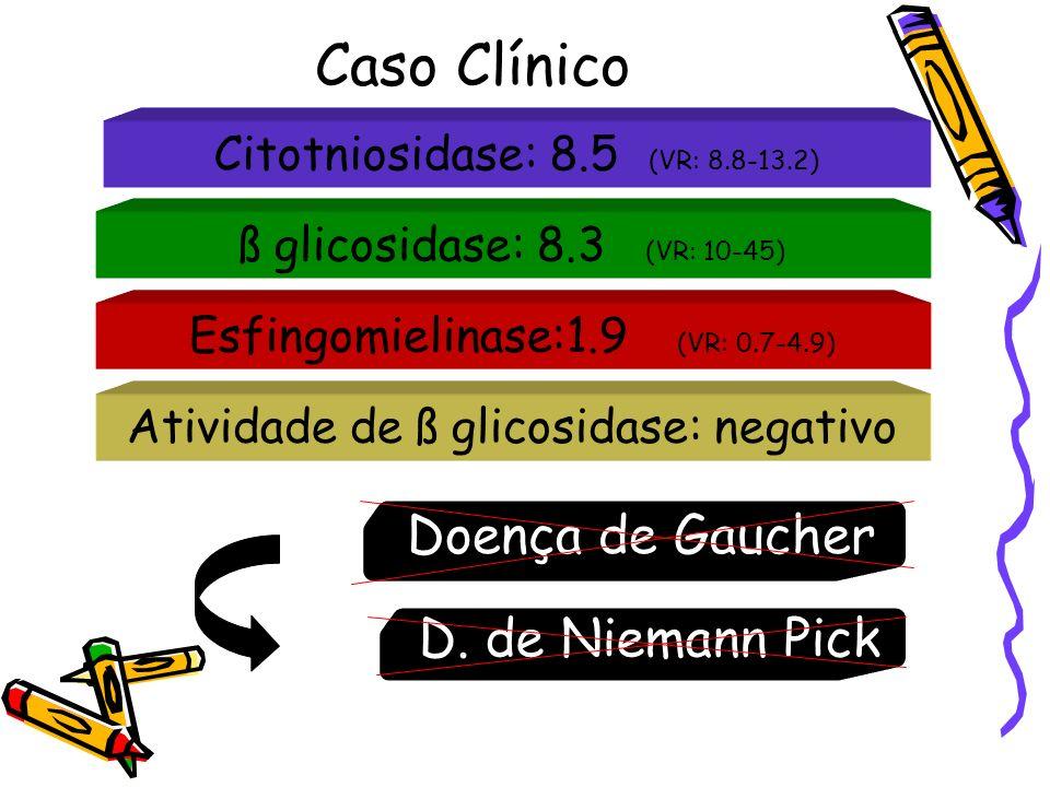 Caso Clínico Doença de Gaucher D. de Niemann Pick