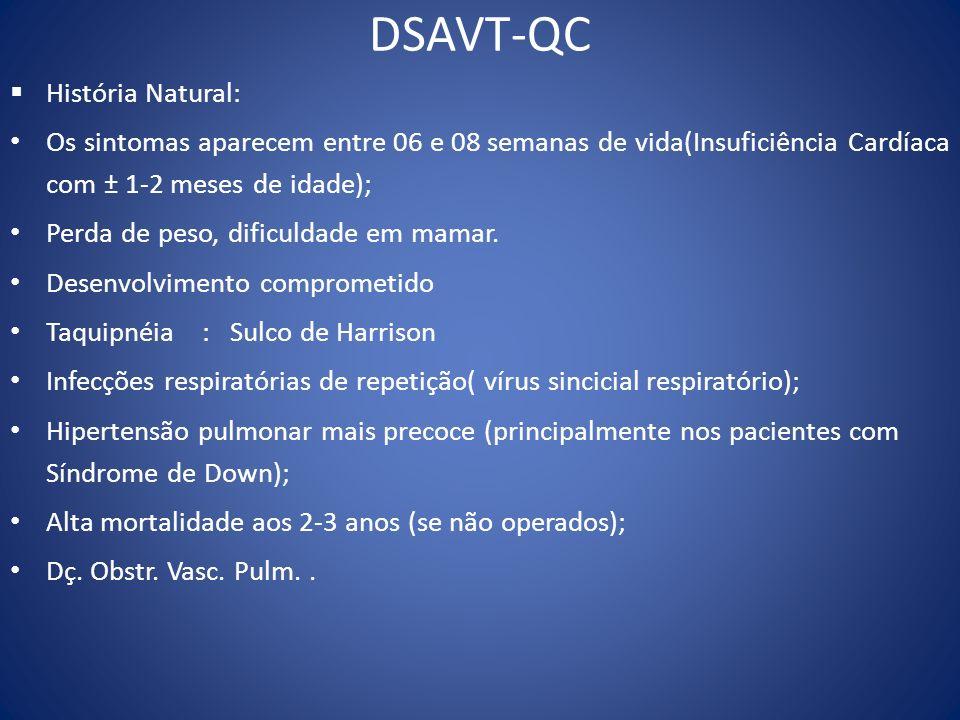 DSAVT-QC História Natural: