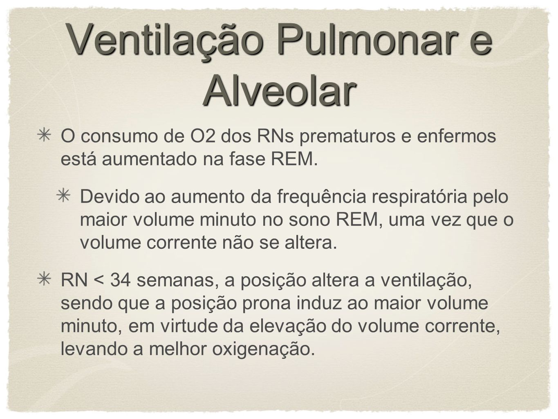 Ventilação Pulmonar e Alveolar