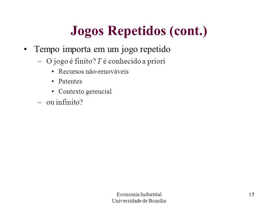 Jogos Repetidos (cont.)