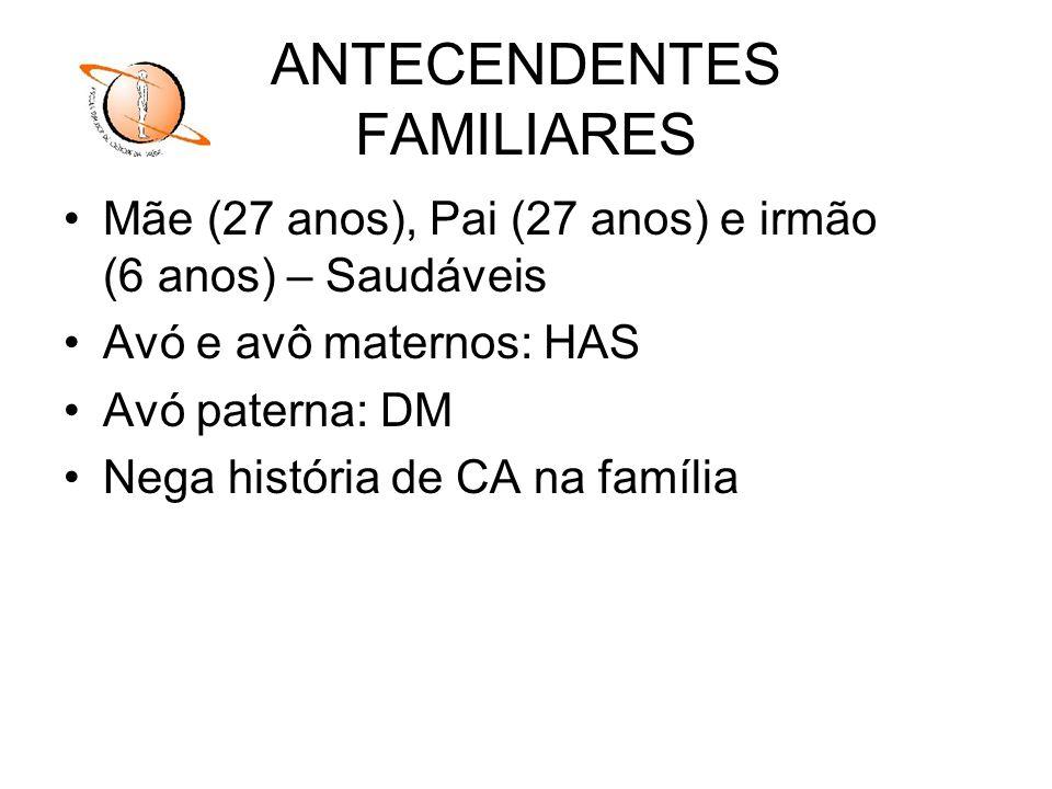 ANTECENDENTES FAMILIARES