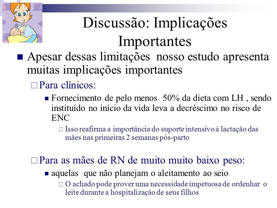 Discussão: Implicações Importantes