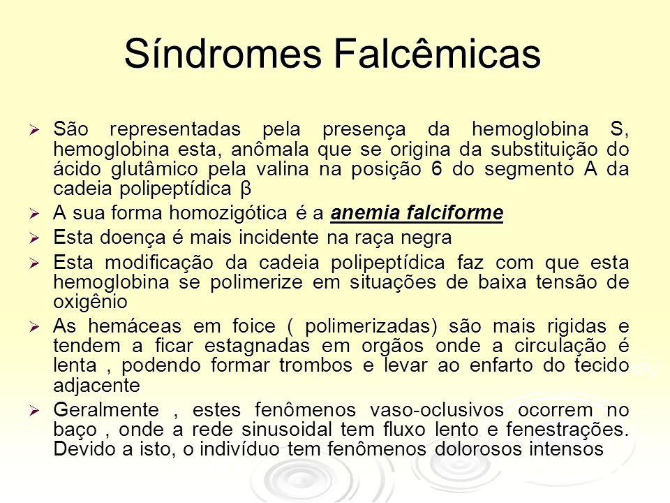 Síndromes Falcêmicas