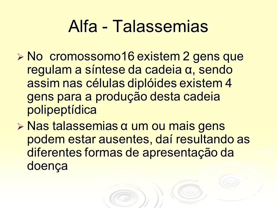 Alfa - Talassemias