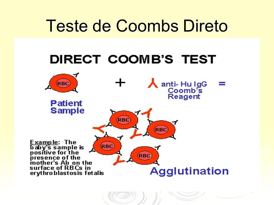 Teste de Coombs Direto .