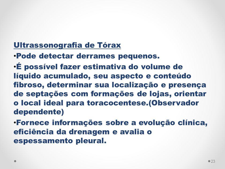 Ultrassonografia de Tórax