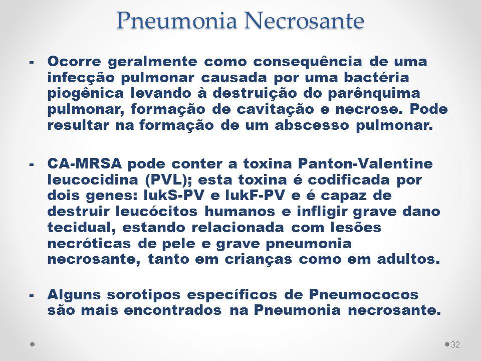 Pneumonia Necrosante