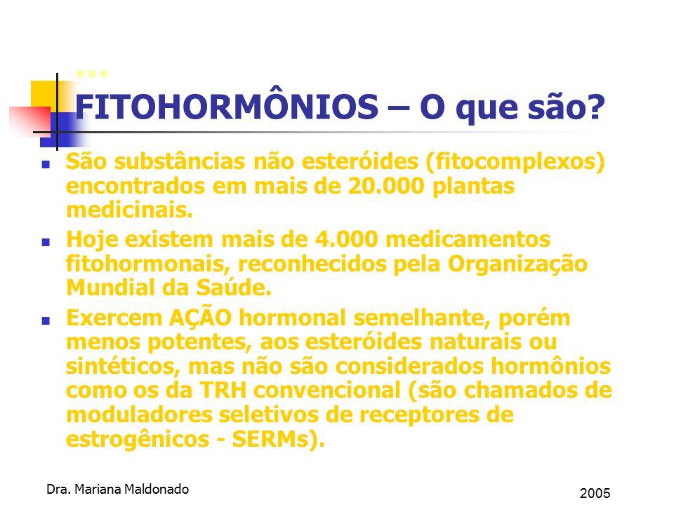 ... FITOHORMÔNIOS – O que são