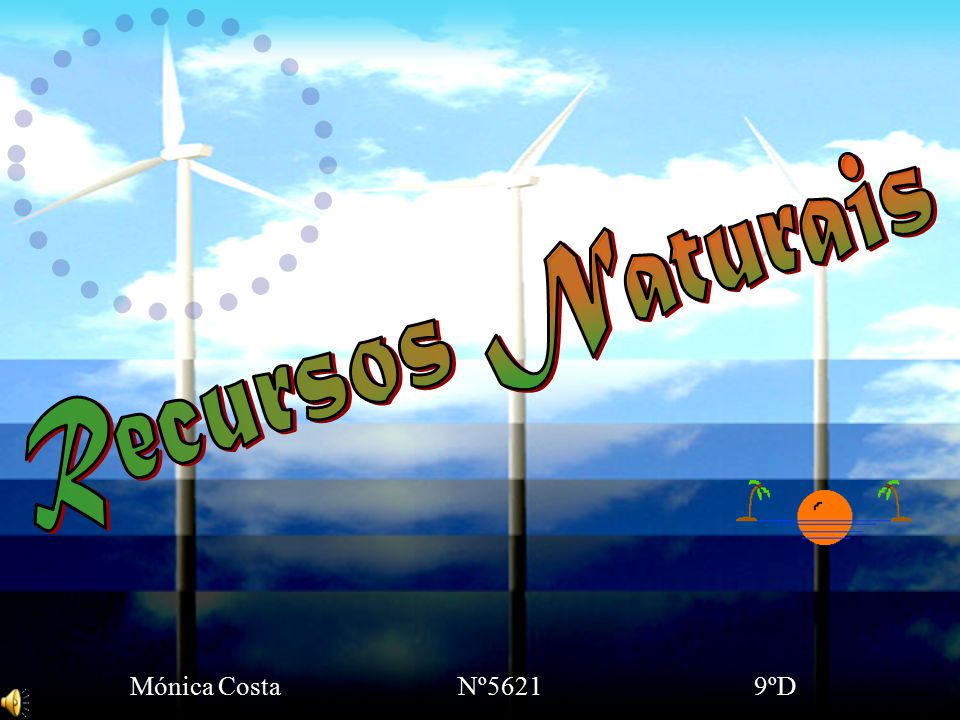 Recursos Naturais Mónica Costa Nº5621 9ºD