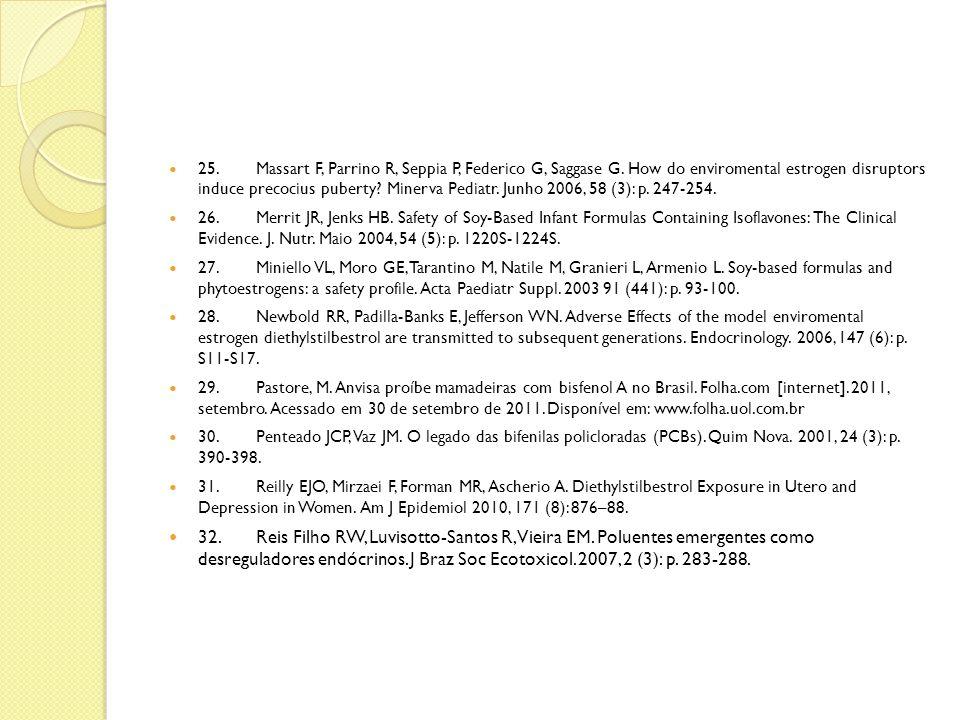 25. Massart F, Parrino R, Seppia P, Federico G, Saggase G