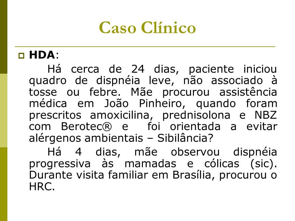 Caso Clínico HDA: