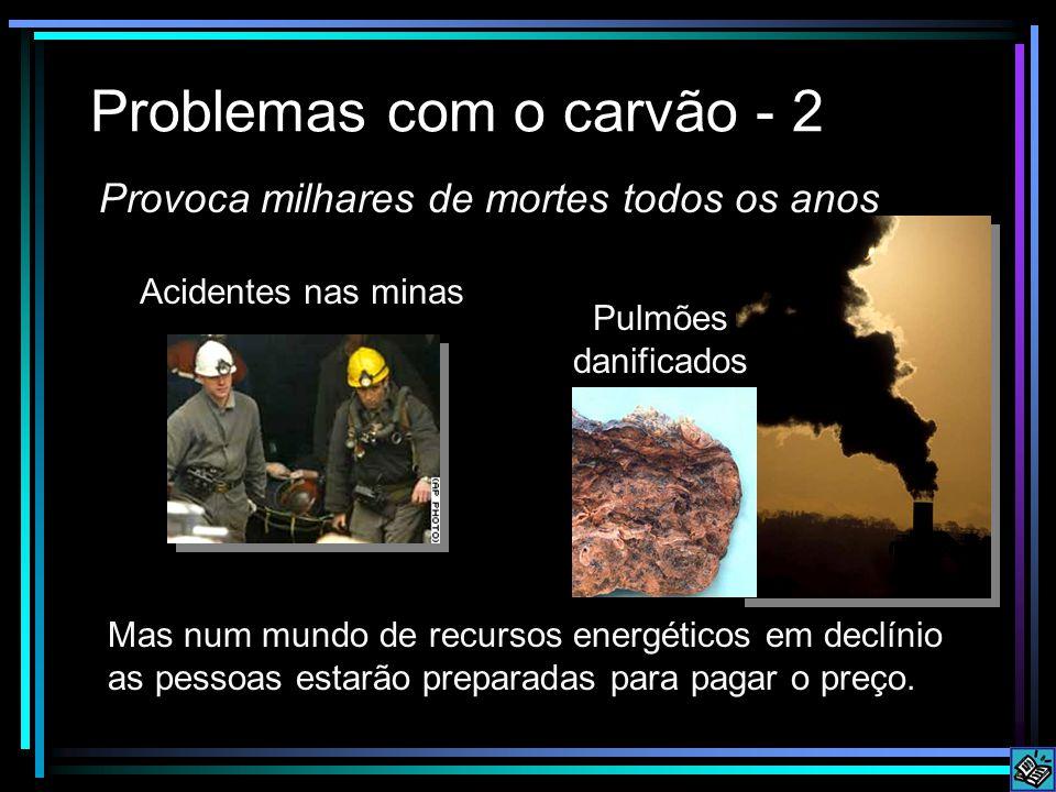 Problemas com o carvão - 2