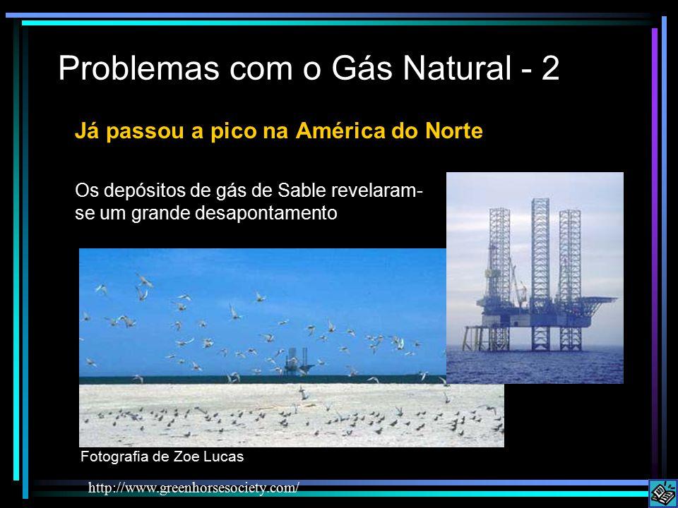 Problemas com o Gás Natural - 2