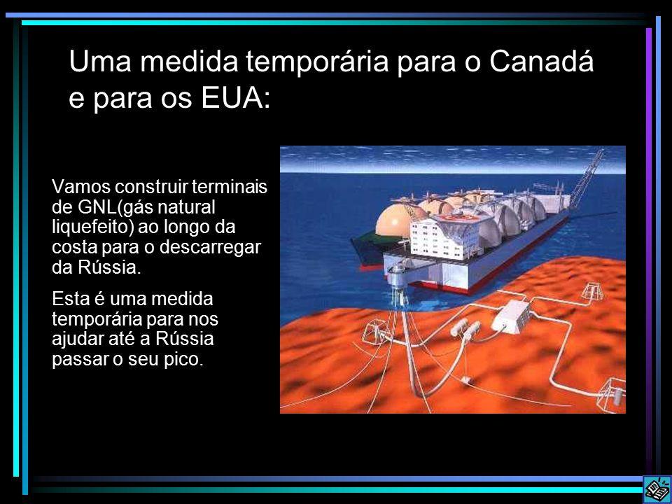 Uma medida temporária para o Canadá e para os EUA: