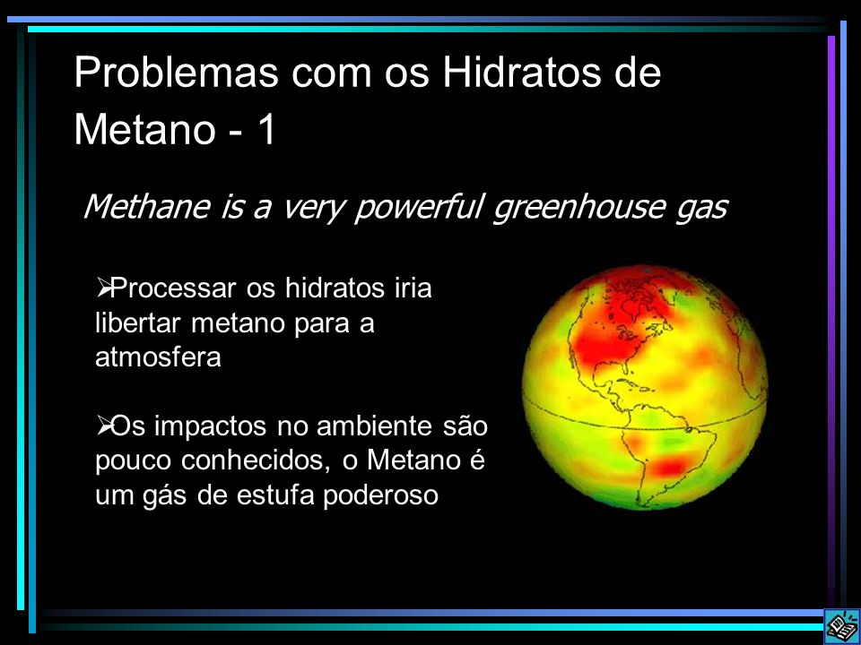 Problemas com os Hidratos de Metano - 1