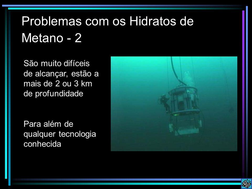 Problemas com os Hidratos de Metano - 2