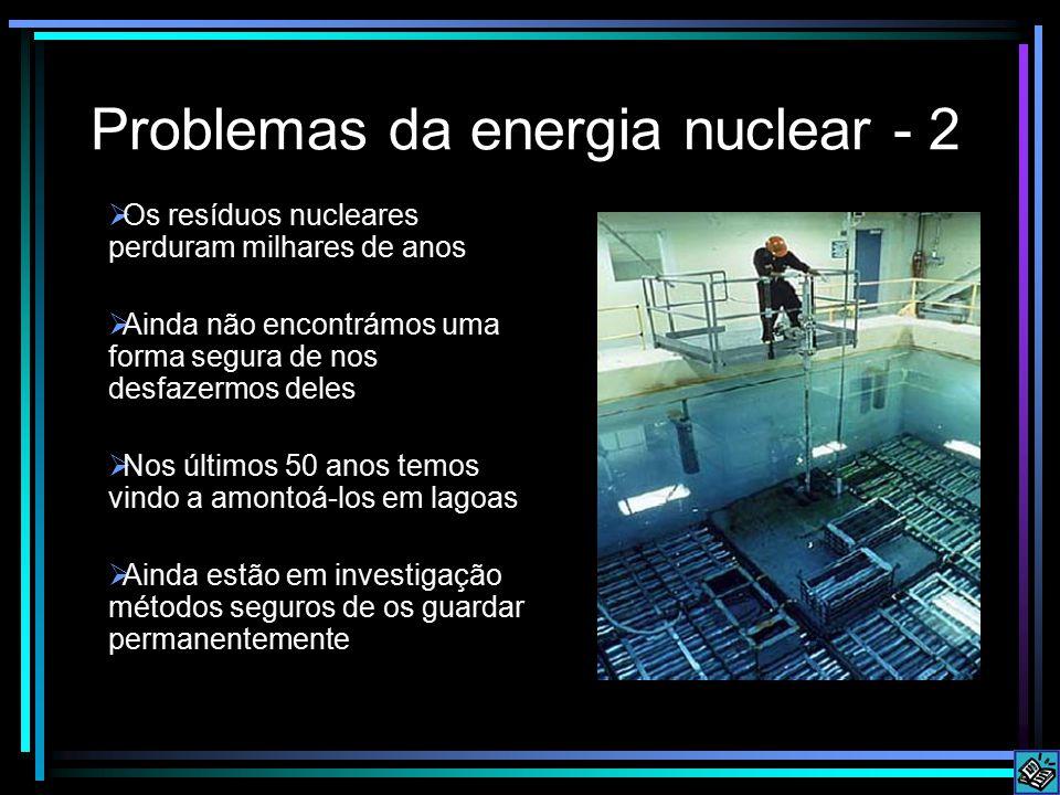 Problemas da energia nuclear - 2