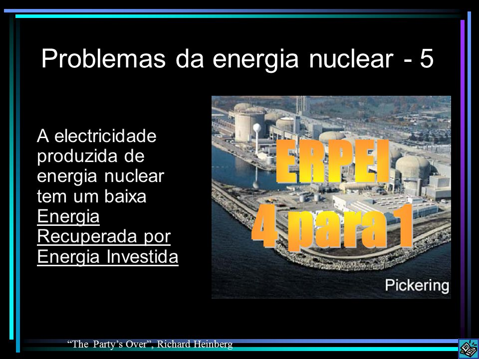 Problemas da energia nuclear - 5