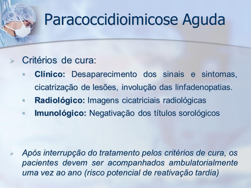 Paracoccidioimicose Aguda