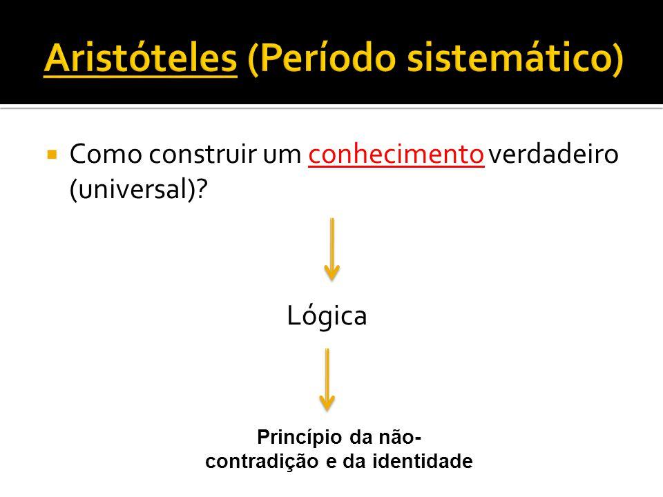 Aristóteles (Período sistemático)