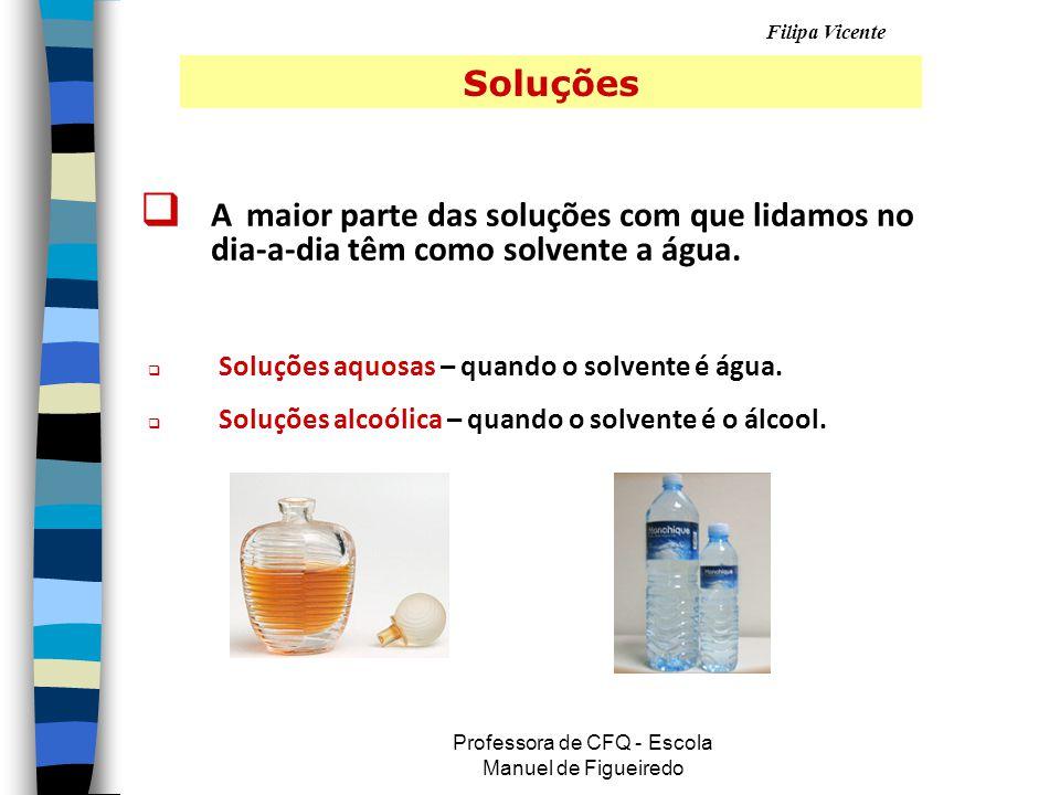 Professora de CFQ - Escola Manuel de Figueiredo