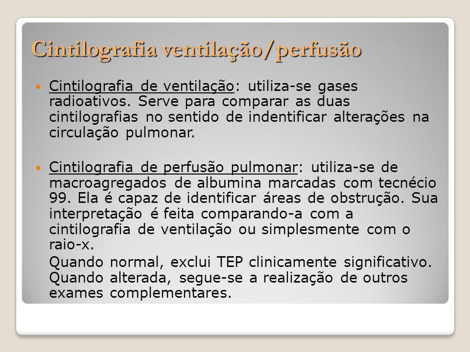 Cintilografia ventilação/perfusão
