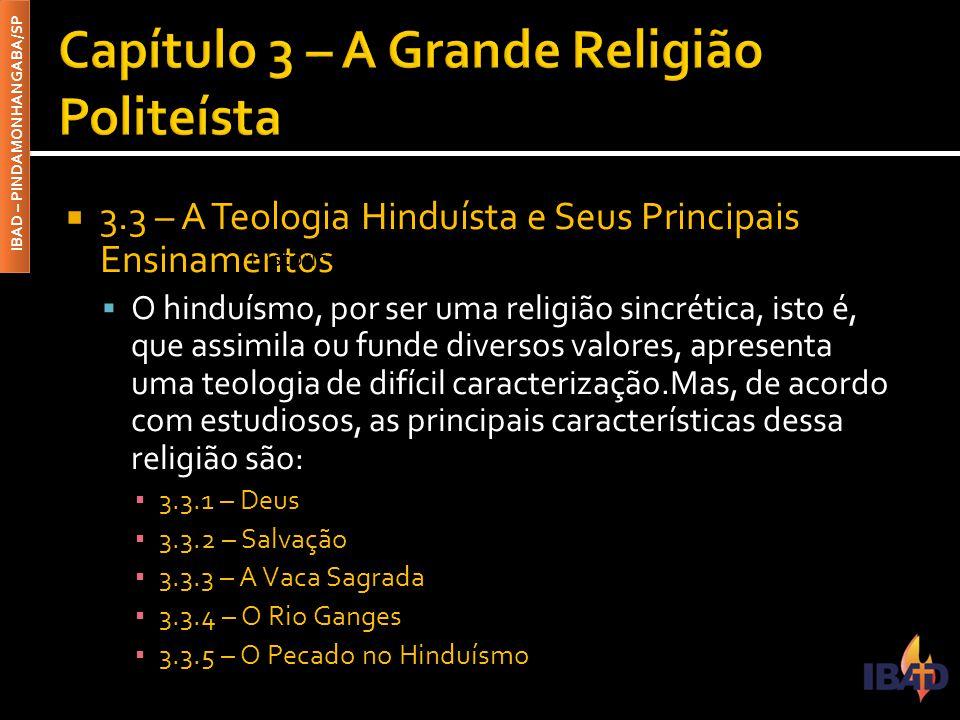 Capítulo 3 – A Grande Religião Politeísta