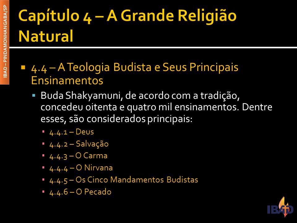 Capítulo 4 – A Grande Religião Natural