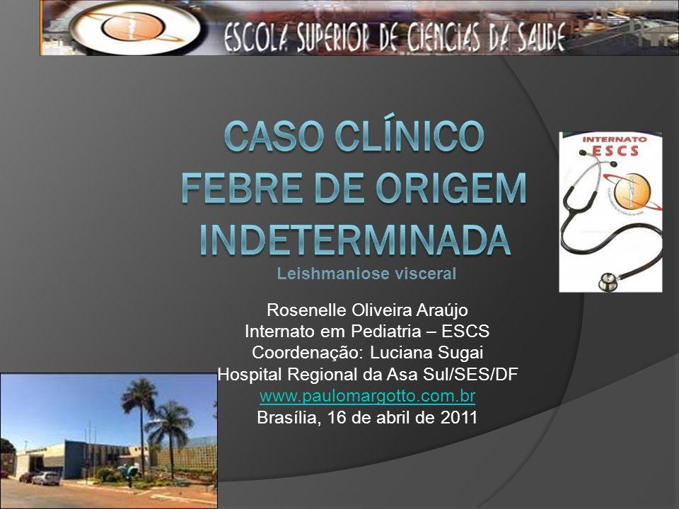 Rosenelle Oliveira Araújo Internato em Pediatria – ESCS