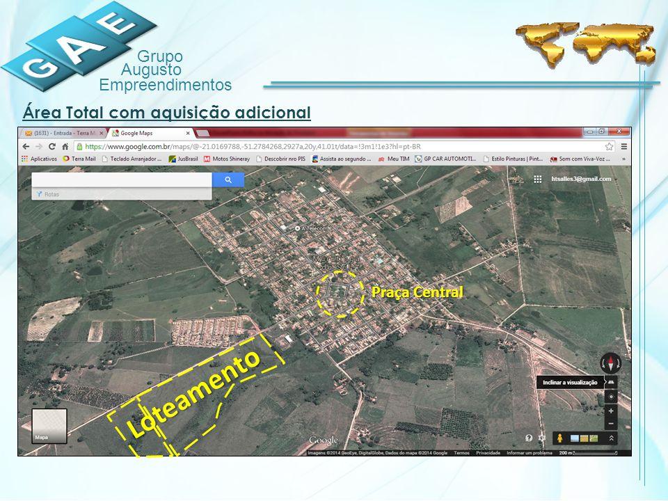 Área Total com aquisição adicional