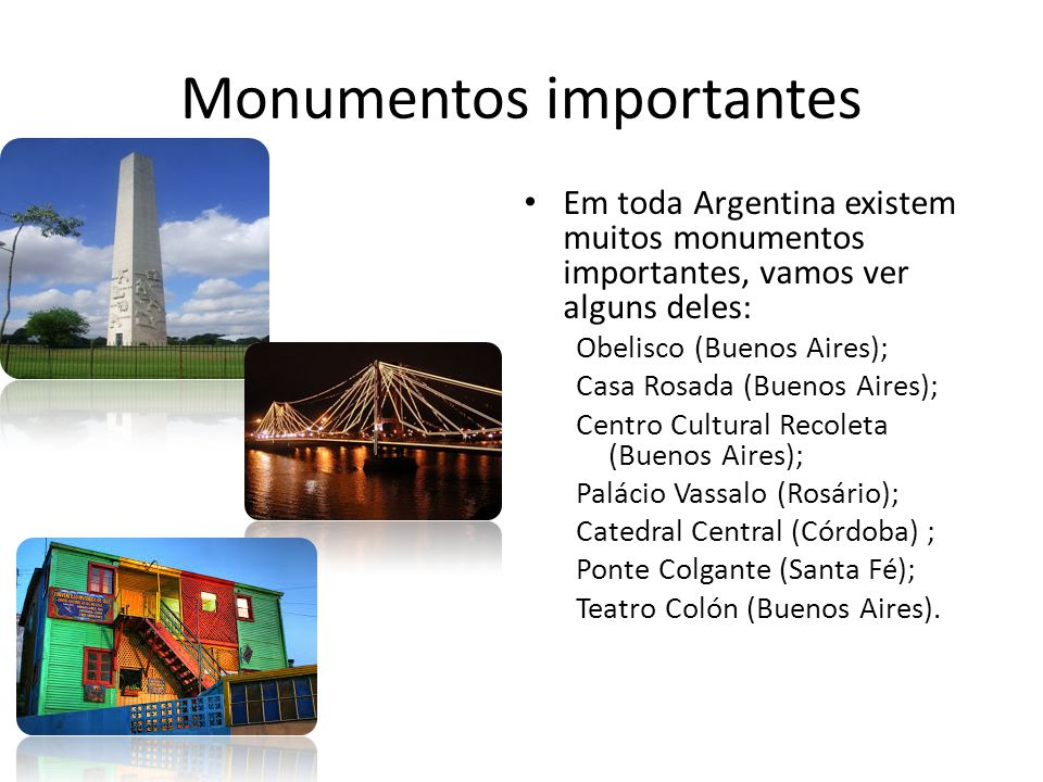 Monumentos importantes