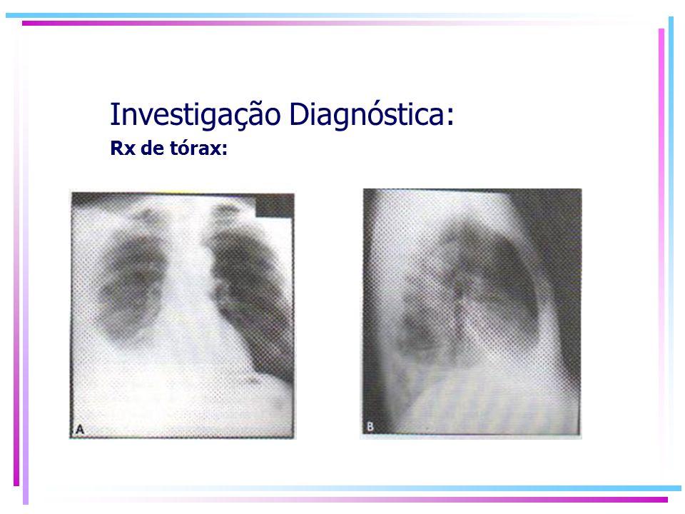 Investigação Diagnóstica: