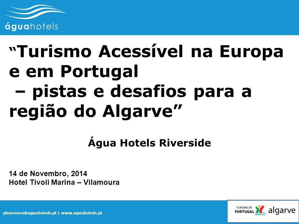 – pistas e desafios para a região do Algarve