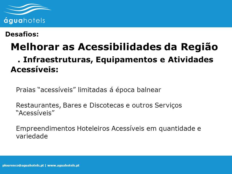 . Infraestruturas, Equipamentos e Atividades Acessíveis:
