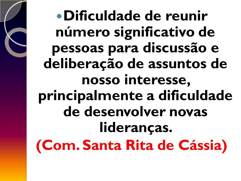 (Com. Santa Rita de Cássia)