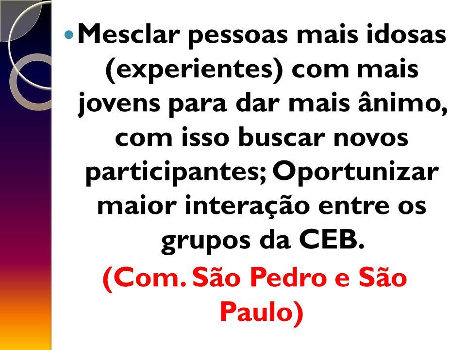(Com. São Pedro e São Paulo)