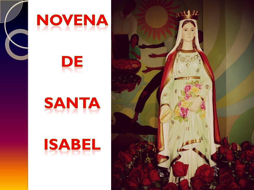 NOVENA DE SANTA ISABEL